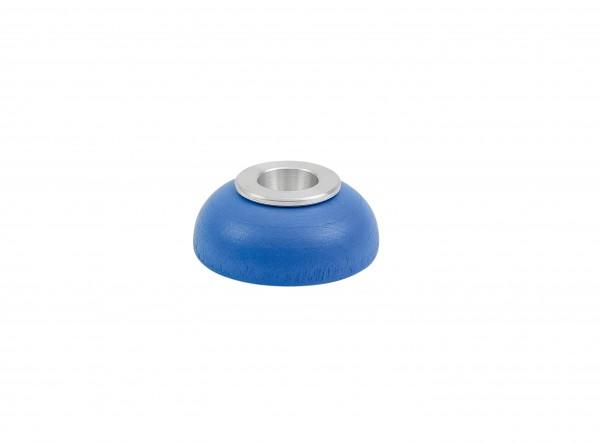 Kerzenhalter Alu-Einsatz blau