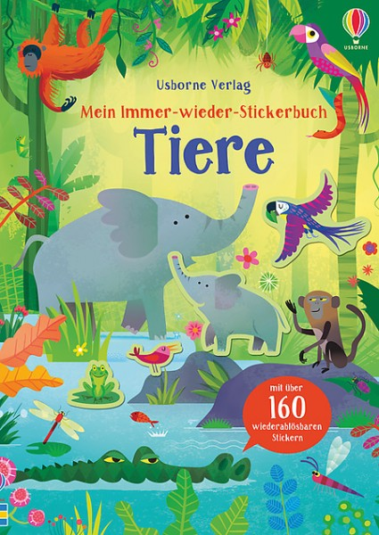 Mein immer-wieder-Stickerbuch Tiere