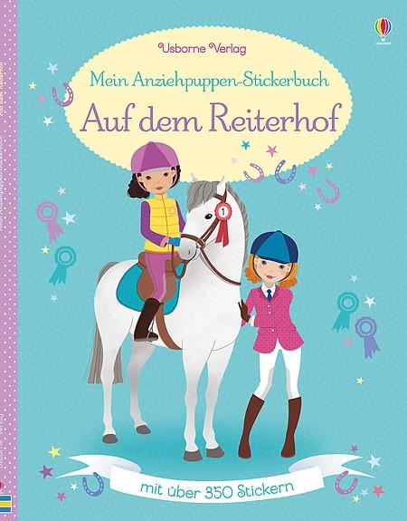 Mein Anziehpuppen-Stickerbuch Auf dem Reiterhof