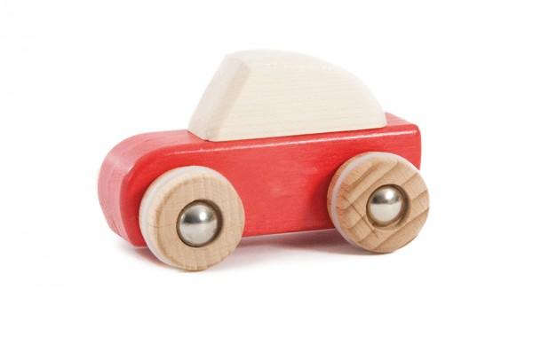 Rückzug-Auto rot