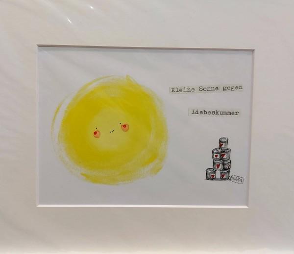kleine Sonne gegen Liebeskummer