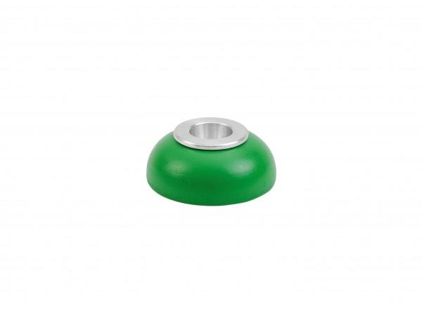 Kerzenhalter Alu-Einsatz grün