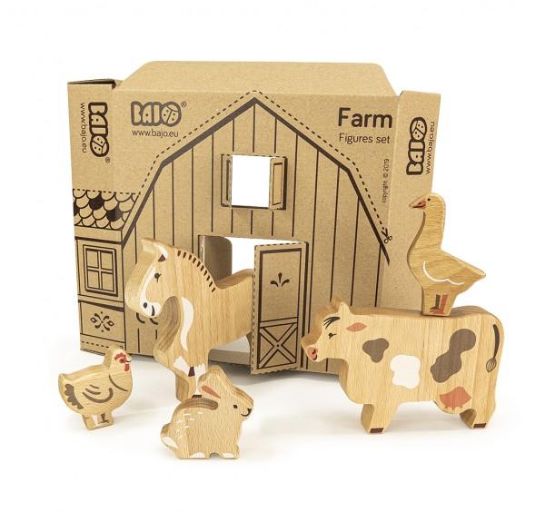 Bauernhof-Set, 14 Figuren