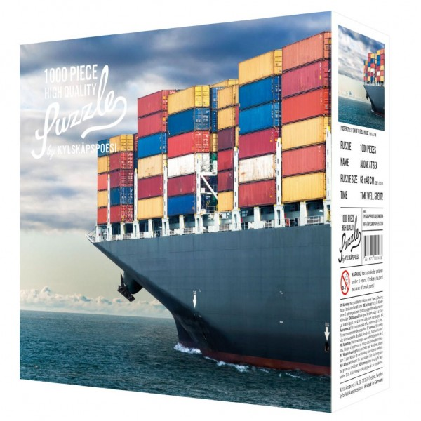 "Puzzle ""Alone at Sea"", 1000 Teile"