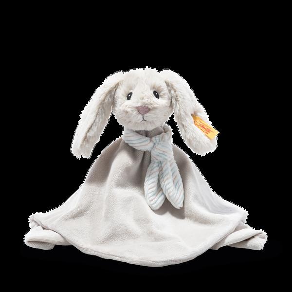 Soft Cuddly Friends Hoppie Hase Schmusetuch, 26 cm