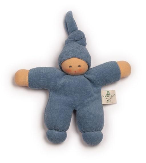 Greifling Puppe Pimpel, blau