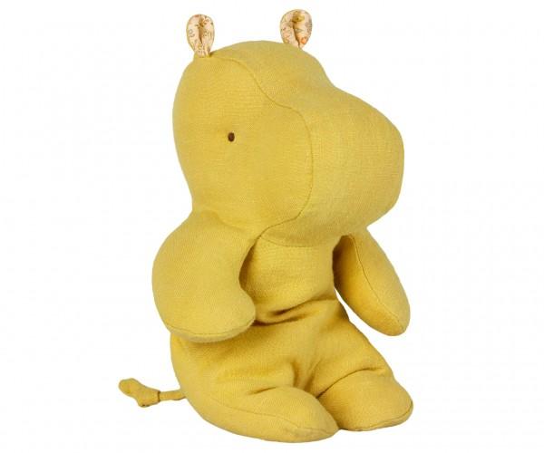 Safari Freunde, kleines Nilpferd – Lime gelb