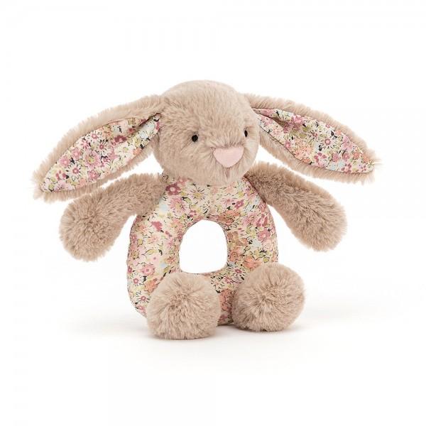Blossom Bea Beige Bunny Grabber, 13cm