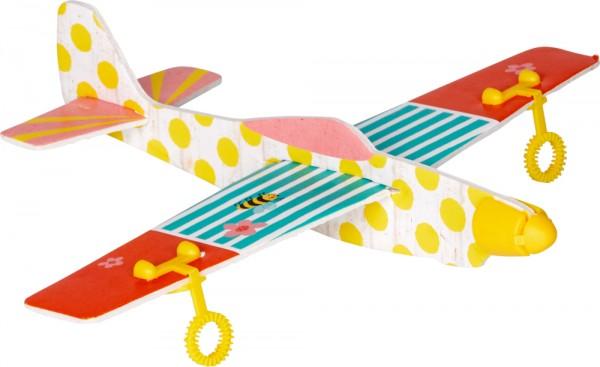 Seifenblasen-Flieger