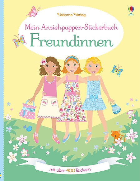 Mein Anziehpuppen-Stickerbuch Freundinnen