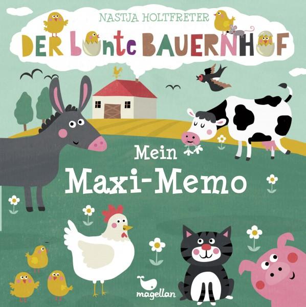 Mein Maxi-Memo - Der bunte Bauernhof