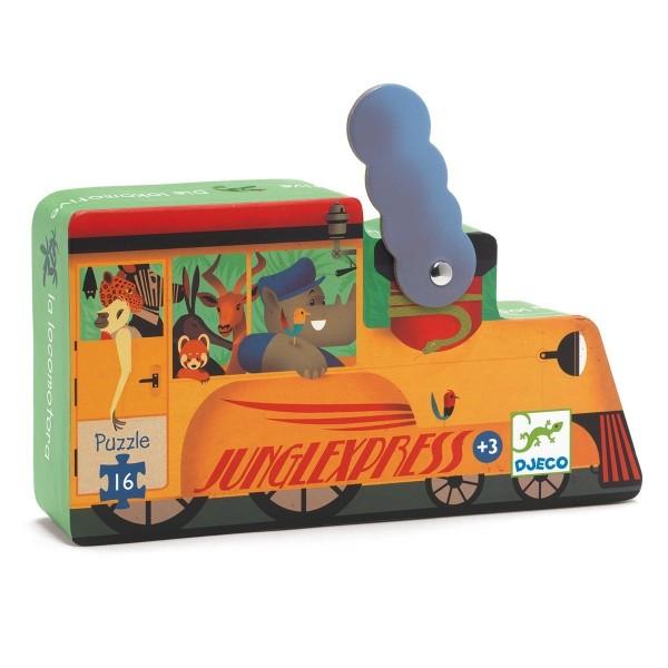 Puzzle – Die Lokomotive