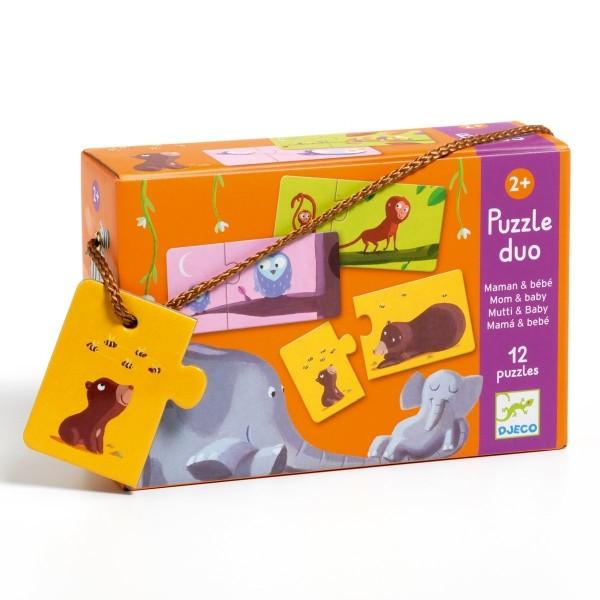 Puzzle Duo Mama & Kind