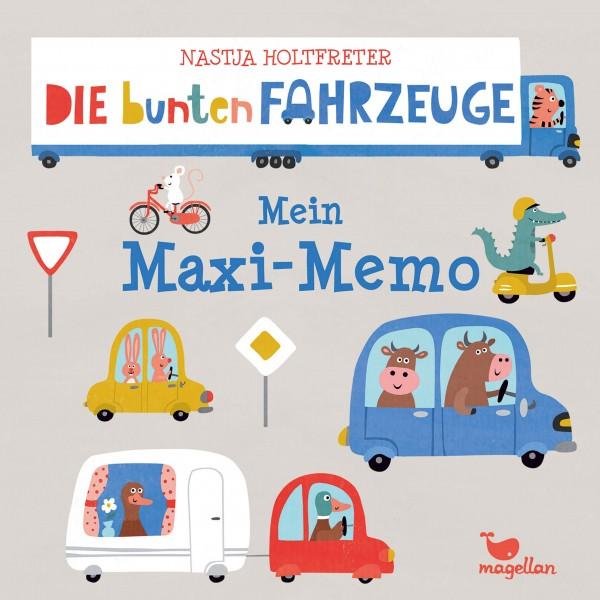 Mein Maxi-Memo - Die bunten Fahrzeuge