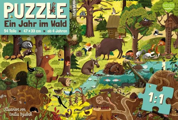 Puzzle - Ein Jahr im Wald