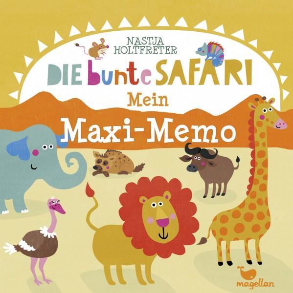 Mein Maxi-Memo - Die bunte Safari