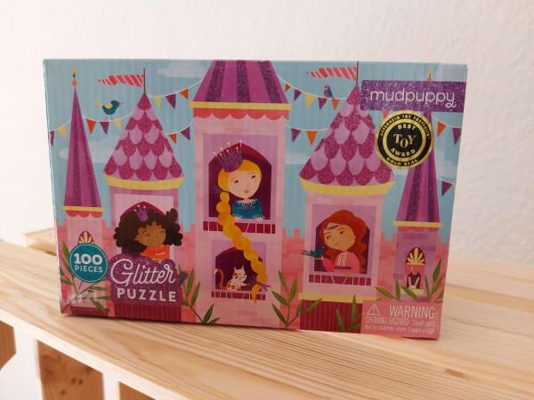 Prinzessinnen Glitzer Puzzle