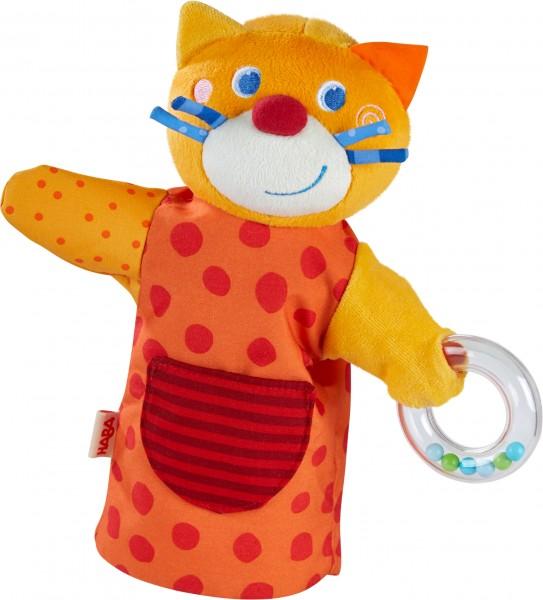 Klang – Handpuppe HABA – Musikant Katze