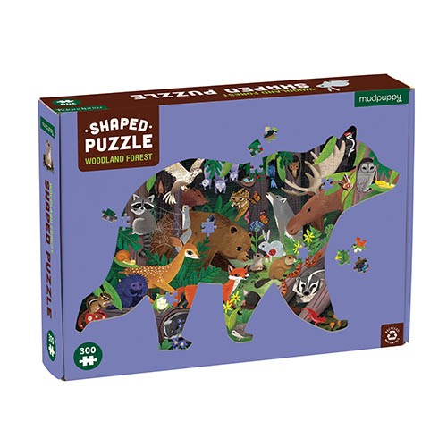 Shaped Puzzle Waldtiere