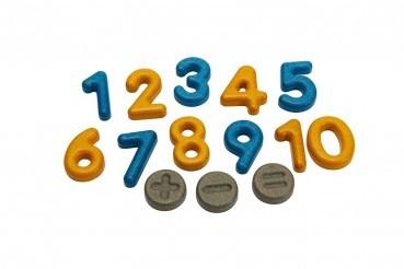 Zahlen & Symbole aus Holz