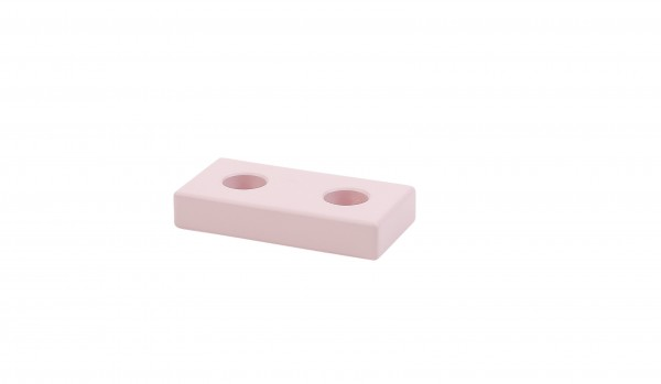 Geburtstagsbank, 2 Steckplätze, rosa