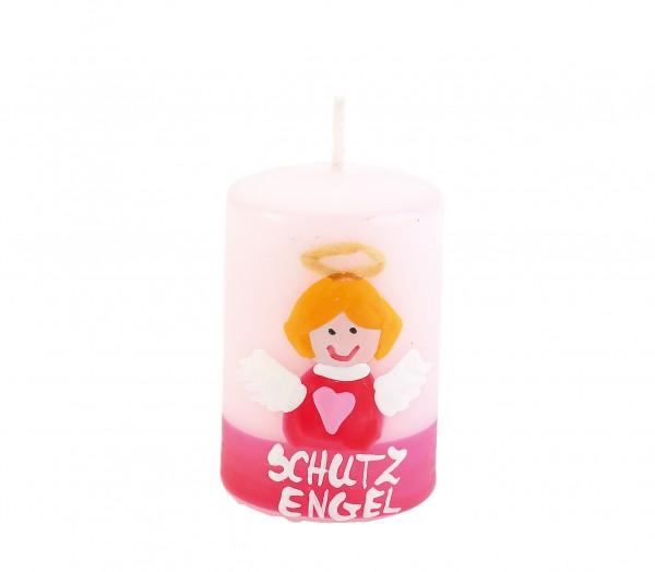 "Motiv-Lebenslicht ""Schutzengel rosa"""