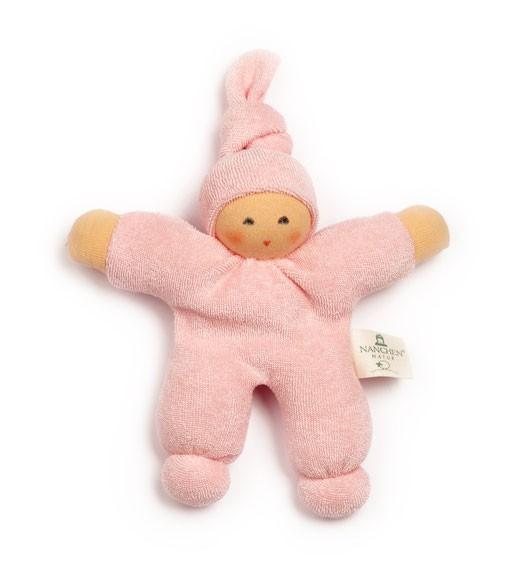 Greifling Puppe Pimpel, rosa