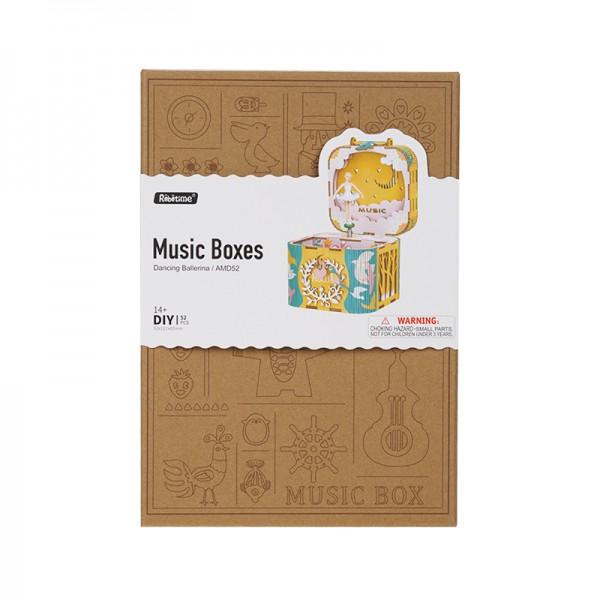 Miniature Music Box Dancing Ballerina