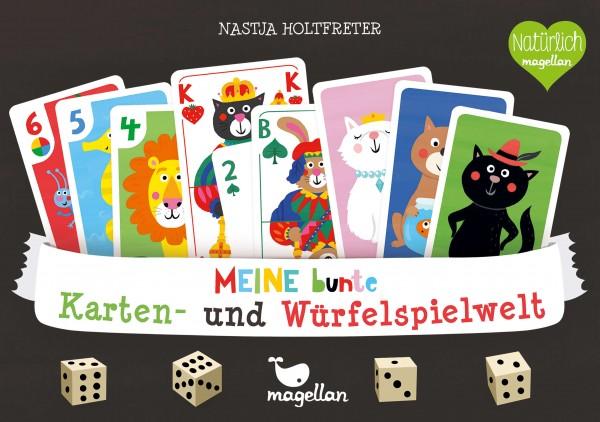 Meine bunte Karten- Würfelspielwelt