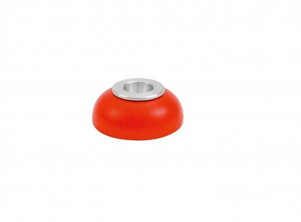 Kerzenhalter Alu-Einsatz orange