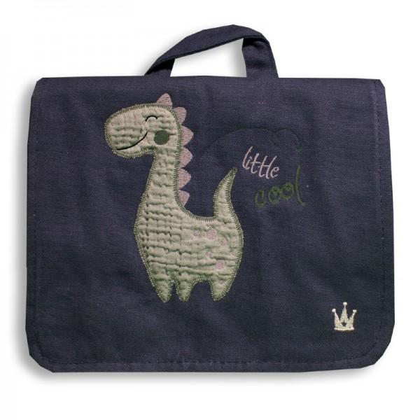Kindergartenrucksack mit Dino, blau