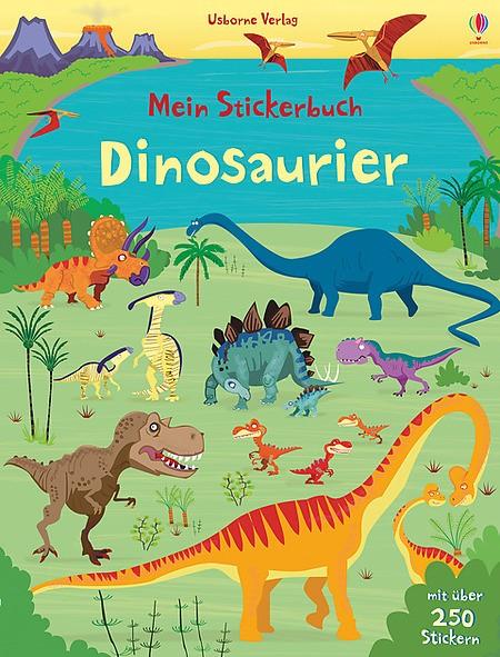 Mein Stickerbuch Dinosaurier