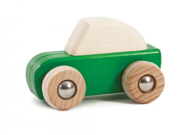 Rückzug-Auto grün