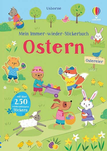 Mein immer-wieder-Stickerbuch Ostern