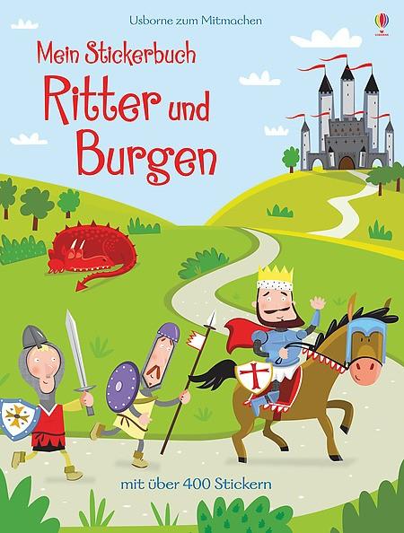 Mein Stickerbuch Ritter und Burgen