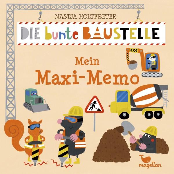 Mein Maxi-Memo - Die bunte Baustelle