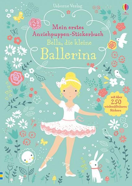 Mein erstes Anziehpuppen-Stickerbuch Bella, die kleine Ballerina