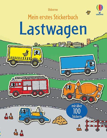 Mein erstes Stickerbuch Lastwagen