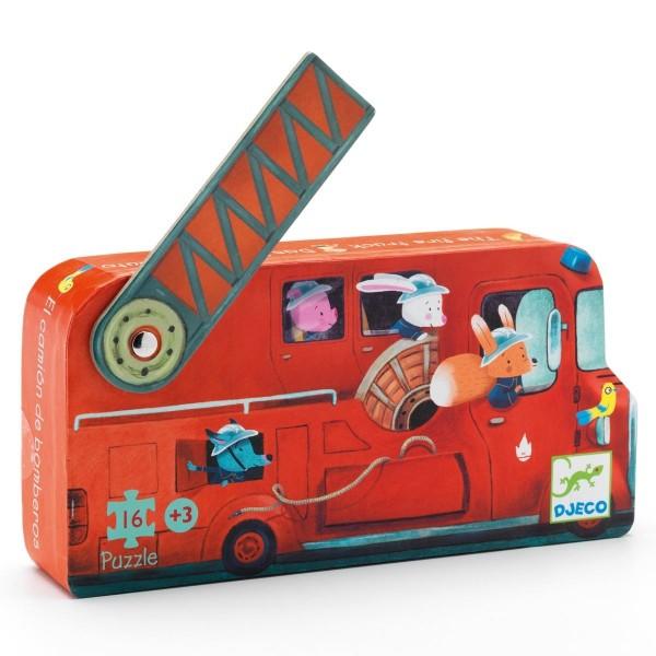 Puzzle - Das Feuerwehrauto