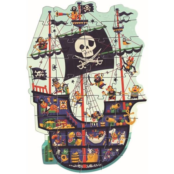 Boden Puzzle Das Piratenschiff