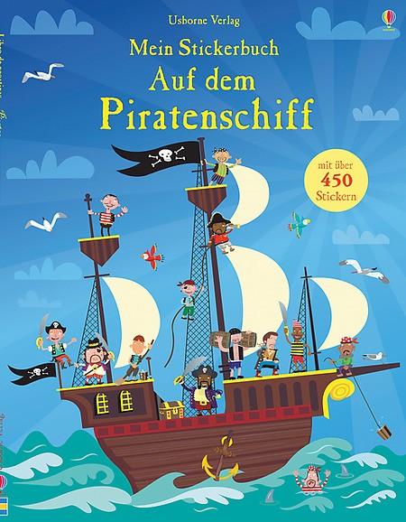 Mein Stickerbuch Auf dem Piratenschiff