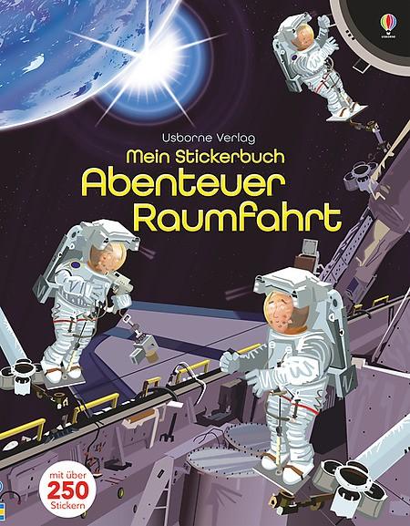 Mein Stickerbuch Abenteuer Raumfahrt