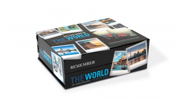 """Gedächtnisspiel 44er """"The World"""""""