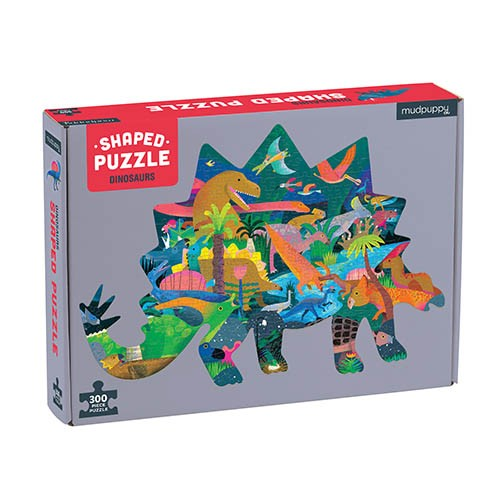 Shaped Puzzle Dino