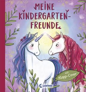 Meine Kindergarten-Freunde Einhörner mit Klapp-Cover