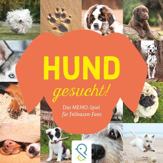 Hund gesucht! Das Memo-Spiel für Fellnasen-Fans