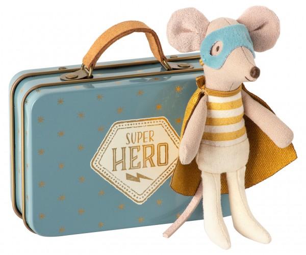 Superheld-Maus (kleiner Bruder im Koffer)