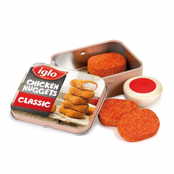 Chicken Nuggets von Iglo in der Dose
