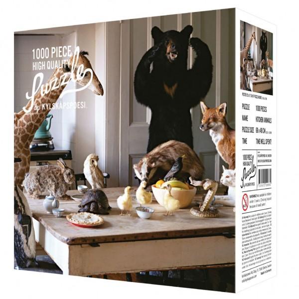 """Puzzle """"Kitchen Animals"""", 1000 Teile"""