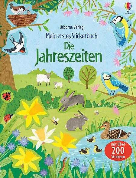 Mein erstes Stickerbuch Die Jahreszeiten